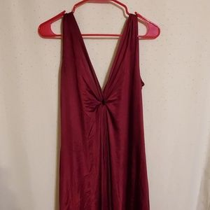Vintage | Burgundy Maxi Nightgown